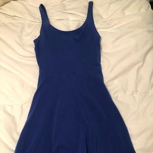 Electric blue flowy dress